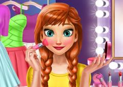 Ana no Salão de Beleza