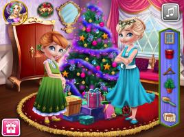 Anna e Elsa e Sua Decoração Natalina - screenshot 2