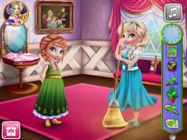 Anna e Elsa e Sua Decoração Natalina - screenshot 3