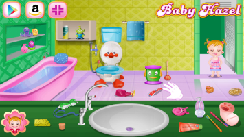 Baby Hazel e A Higiene no Banheiro - screenshot 1
