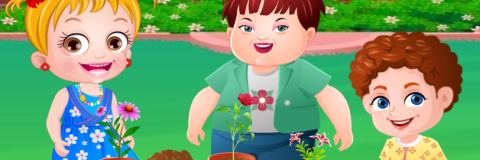 Baby Hazel Festa no Jardim