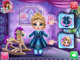 Banho da Elsa Bebê - screenshot 3