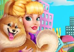 Barbie Adopta Um Cachorrinho