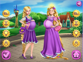 Barbie e Rapunzel: Princesas Grávidas - screenshot 3