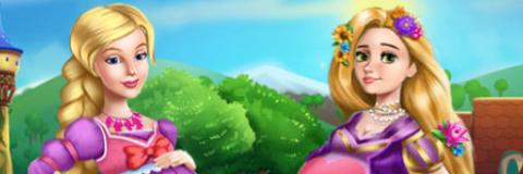 Barbie e Rapunzel: Princesas Grávidas