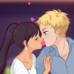 Jogo Beijo Escondido na Escola