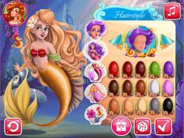 Crie a Nova Princesa Sereia - screenshot 2