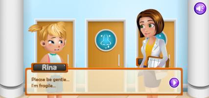 Cuide da Menina no Consultório - screenshot 1