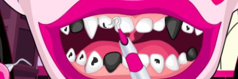 Cuide dos Dentes da Draculaura