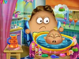 Dê Banho no Bebê Pou - screenshot 1