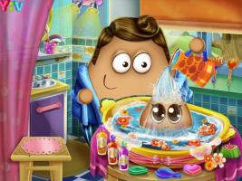 Dê Banho no Bebê Pou - screenshot 2