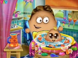 Dê Banho no Bebê Pou - screenshot 3