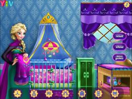 Decore o Quarto do Bebê da Elsa - screenshot 1