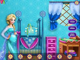 Decore o Quarto do Bebê da Elsa - screenshot 3