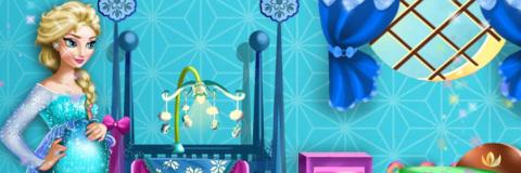 Decore o Quarto do Bebê da Elsa