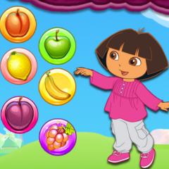 Jogo Dora Combina Frutas