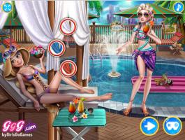 Eliza e Chloe: Festa na Piscina - screenshot 3