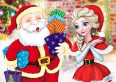 Elsa Faz Presentes de Natal