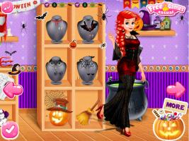 Elsa, Rapunzel e Ariel no Halloween - screenshot 3