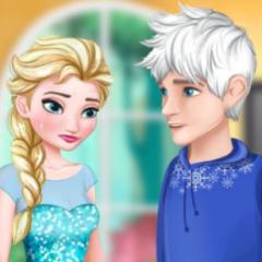 Jogo Elsa Rompe o Namoro com Jack Frost