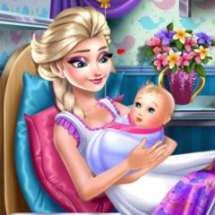 Jogo Elsa Vai Ser Mamãe
