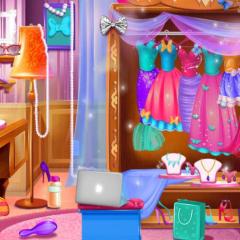 Jogo Encontre as Roupas e Vista Elsa
