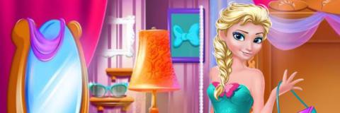 Encontre as Roupas e Vista Elsa