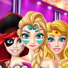 Jogo Festa de Halloween com as Princesas Disney