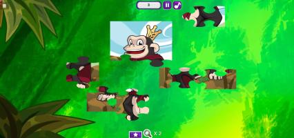 Kiba & Kumba Jigsaw Puzzle - screenshot 2