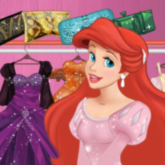Jogo Loja de Roupas da Ariel