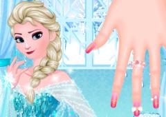 Manicure de Elsa