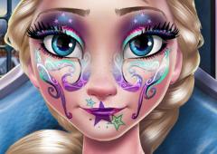 Maquiagem de Reveillon de Elsa