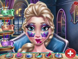 Maquiagem de Reveillon de Elsa - screenshot 3