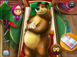 Jogos De Masha E O Urso No Hospital No Meninas Jogos
