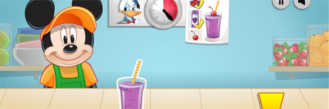 Milk-shakes do Mickey