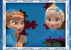 Nove Quebra Cabeças de Frozen
