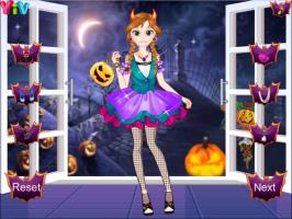 O Halloween da Elsa e da Anna - screenshot 2