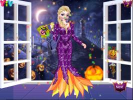 O Halloween da Elsa e da Anna - screenshot 3