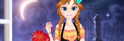 O Halloween da Elsa e da Anna