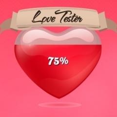Jogo Percentagem de Amor