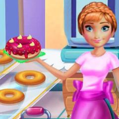 Jogo Princesa Anna Prepara Rosquinhas