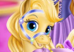 Princesas da Disney Cuidam de Pôneis