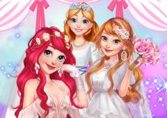 Princesas da Disney viram Noivas