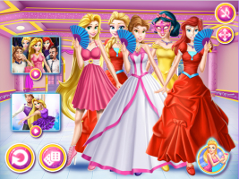 Princesas Disney: Baile de Máscaras - screenshot 3