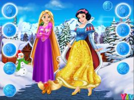 Rapunzel e Branca de Neve: Roupas de Inverno - screenshot 1