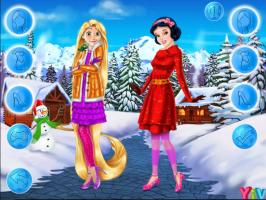 Rapunzel e Branca de Neve: Roupas de Inverno - screenshot 2