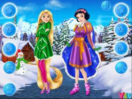 Rapunzel e Branca de Neve: Roupas de Inverno - screenshot 3