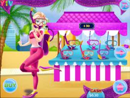 Rapunzel e Elsa no Fundo do Oceano - screenshot 2