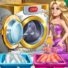 Jogo Rapunzel Lava Roupas