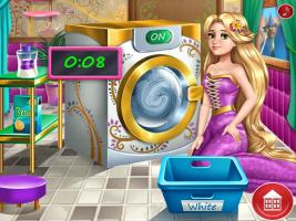 Rapunzel Lava Roupas - screenshot 1